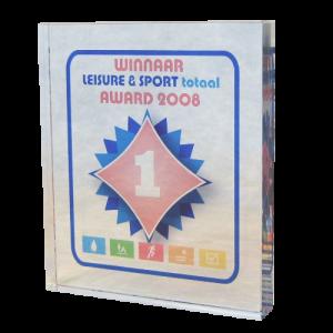 Plexiglas Award Transparant