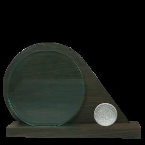 Ronde award van hout en glas | DW2