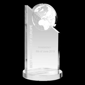 Moonpeak award met gravering