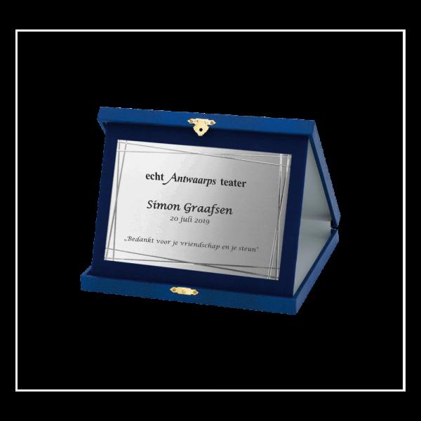 Plaquette award