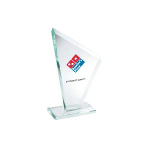 Trofee met logo