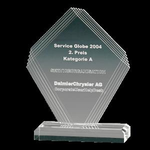 Diamond Shape award
