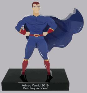 Op maat gemaakte award van plexiglas 1