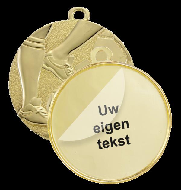 1.medaillelabel tekst