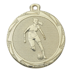 voetbalster medaille