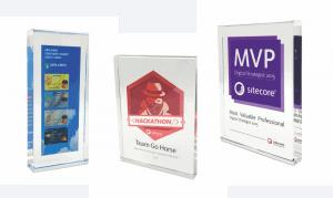 plexiglas tombstones awards