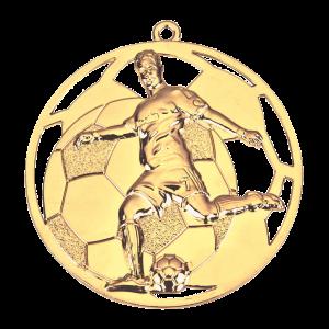 Voetballer medaille